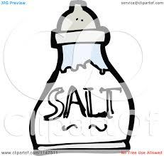 salt clipart cartoon of a salt shaker