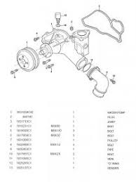 did ford forget my elbow off the water pump coolant leak 2000 F350 Water Pump Diagram click image for larger version name explode schematic of ford water pump jpg views 2000 ford f350 water pump replacement