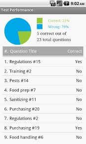 food safety exam prep   android apps on google playfood safety exam prep  screenshot