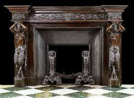 old fireplace mantels