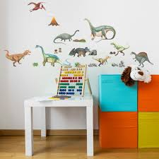 perfect dinosaurs wall sticker fabric wall decal l and stick removable and repositionable stickers for