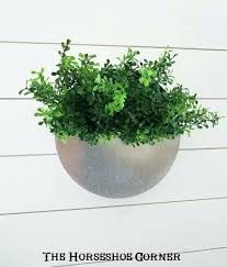 galvanized metal wall planter hanging round sconce pocket planters decor hobby lobby met round metal wall planters