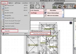 architecture 3d plan 2d gratuit