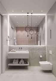 no entanto, antes de comprar e usar a fita de led, é importante saber que existem modelos de diferentes voltagens, dimensões e cores. O Espelho Deste Banheiro Ganha Mais Destaque E Ajuda A Ampliar O Espaco Com A Fita De Led Branca A Projeto Do Banheiro Decoracao Do Banheiro Banheiros Modernos
