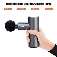 New KICA <b>Fascia Gun Mini</b> Size Electric Body Massage 4 Vibration ...