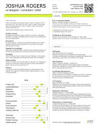 User Experience Resume Examples Your Prospex
