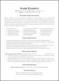 Customer Service Resume Objective Examples Simple Resume Objective Examples For Customer Service Representative Good