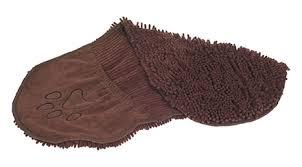 <b>Полотенце для собак Dirty</b> Dog Shammy коричневое 33 х 79 см ...