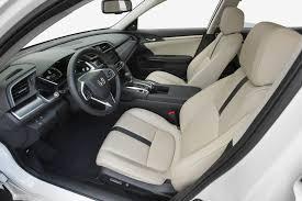 2017 honda civic sedan leather front seats