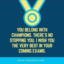 Quotes For Examination Success