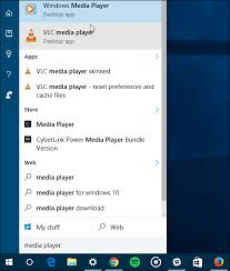 Windows 10 Tip Find Windows Media Player And Set It As Default