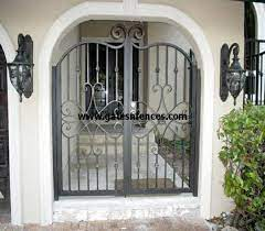 custom garden gate aluminum garden gate