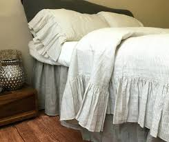 ruffle duvet cover vintage from full bloom cottage ruched twin xl size