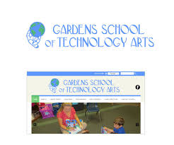 logo design by edu moe for gardens school of technology arts design 7497890
