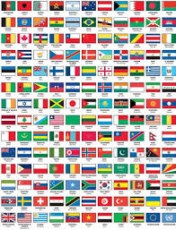 Flag Chart With Names Pin By Toni On Random World Flags With Names Flags With