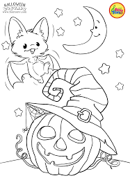 155 halloween printable coloring pages for kids. Halloween Coloring Pages For Kids Free Preschool Printables Noc Vjestica Bojanke Cute H Halloween Coloring Book Scary Halloween Crafts Halloween Coloring