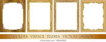 Ornate Gold Frame Images Stock Photos Vectors Shutterstock