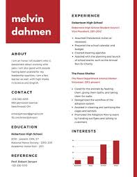 Customize 377 High School Resume Templates Online Canva