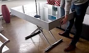 condo furniture ideas. Expand-coffee-table-dining-table-transformable-furniture-design- Condo Furniture Ideas