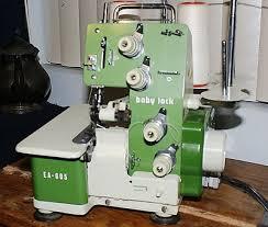 Juki Baby Lock Ea 605 Serger Sewing Machine