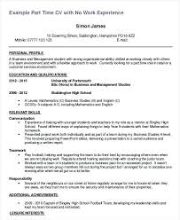 Sample Resume High School Student Magnificent Resume For High School Student First Job Resume Format For First