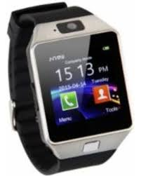 91% Off OSP Smartwatch With Bluetooth and Camera for Samsung iPhone Android - Silver Hot Bargains!