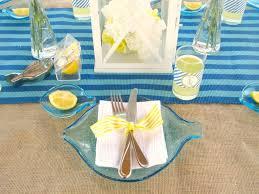 Nautical Table Settings Nautical Theme Baby Shower Ideas