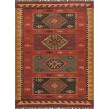 jaipur living flat weave zinfandel 4 ft x 6 ft tribal area rug