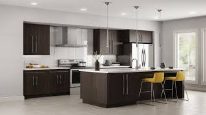 Hampton Bay Kitchen Cabinets Design Edgeley Wall Cabinets In Thunder Kitchen The Home Depot