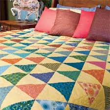 Patchwork Quilt Patterns Beauteous Patchwork Pennants FREE Modern Triangle Crib Quilt Pattern The