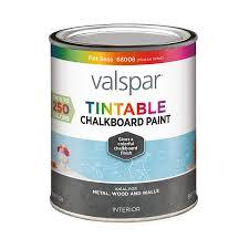 lowes interior paint colorsShop Valspar Tintable Latex Chalkboard Paint Actual Net Contents