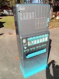 Coin Operated Candy Vending Machine Gorgeous Candy Vending Machines Banks Registers Vending Collectibles