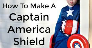 diy captain america shield desert chica