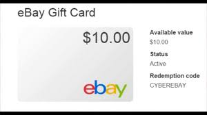10 ebay giftcard giveaway free