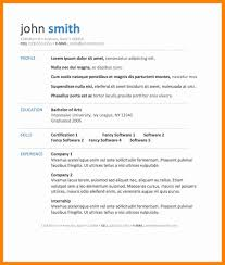 8 Microsoft Resume Template Download New Hope Stream Wood