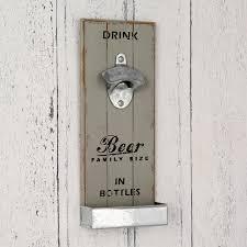 wall mounted bottle opener for beer