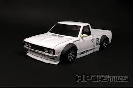 Datsun 620 Pickup Truck (Nissan) w/ Flares 1/10 Body Set [APlastics ...