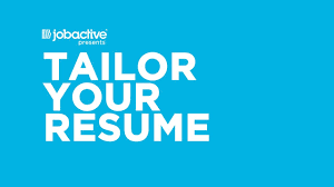 Tailor Your Resume Help Me Find A Job Tailor Your Resume YouTube 17