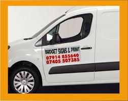 2x Magnetic Stickers Van Car Signs 450mm X 300mm Free Designing Fre Delivery