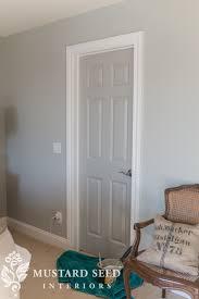 Interior Door paint interior doors photographs : customizing a house   painting interior doors - Miss Mustard Seed