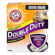 image cat litter. Perfect Image ARM U0026 HAMMER U0026trade Double Duty Cat Litter  Clumping Deodorizer Inside Image S