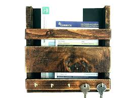 key holder wall mount mail organizer hanging and an