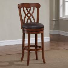 wood swivel bar stools. Inch Wooden Swivel Bar Stools With Back Solid Wood Backs Black Arms And N