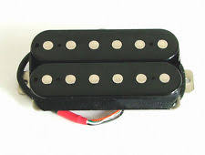 artec guitar pickups artec alnico 5 guitar hot humbucker neck pickup black