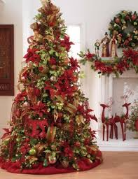 red and silver christmas tree decorating ideas red christmas tree decorating  ideas decorated black christmas