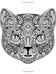 Colorful Cats 30 Best Stress Relieving Cats Designs Adult Coloring