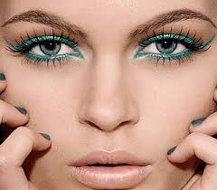with a little bit of effort you can enhance your natural beauty through your green eyes your plum colored lashes will bring out green eyes and encourage