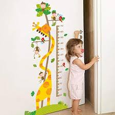 Amazon Com Kids Growth Chart Children Height Chart Growth