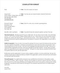 Writing A Cover Letter To An Unknown Recipient How To Address Cover