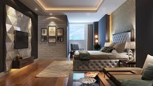 Bedroom in the modern style - Fashionable color solutions